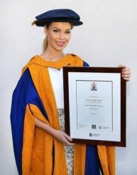 Kate grad ceremony