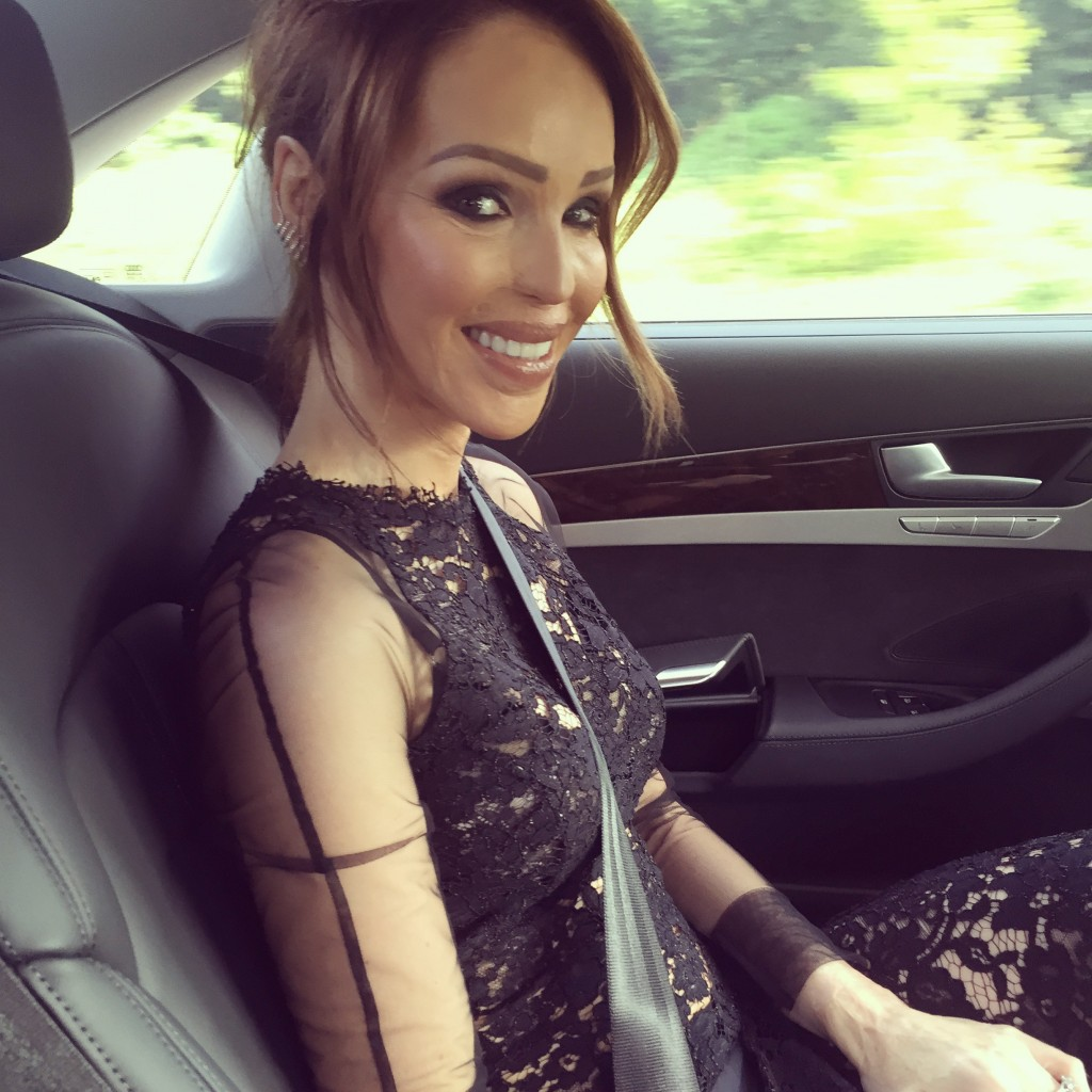 On the way to baftas